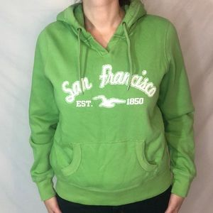 Prairie Mountain San Francisco Logo hoodie